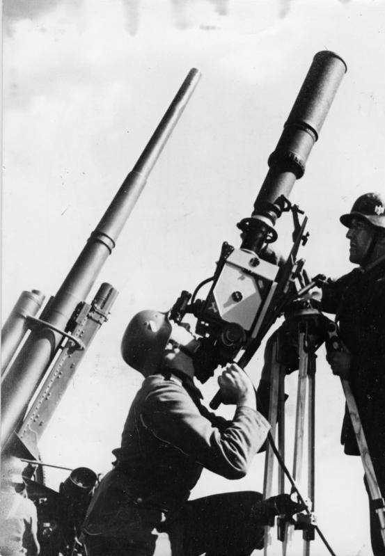 Filming Nazi Rocket