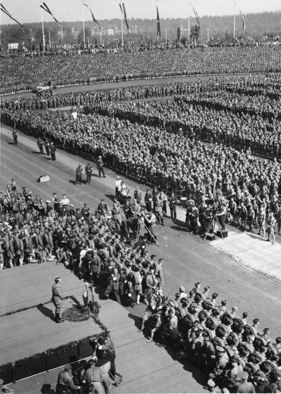 Filming Nuremberg Rally