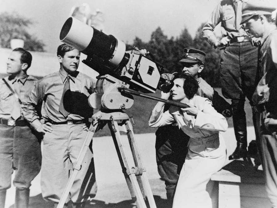 Filming Triumph Of Will