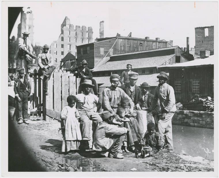 Freedmen In 1865