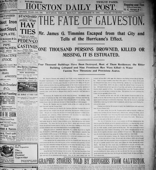 Galveston Headline