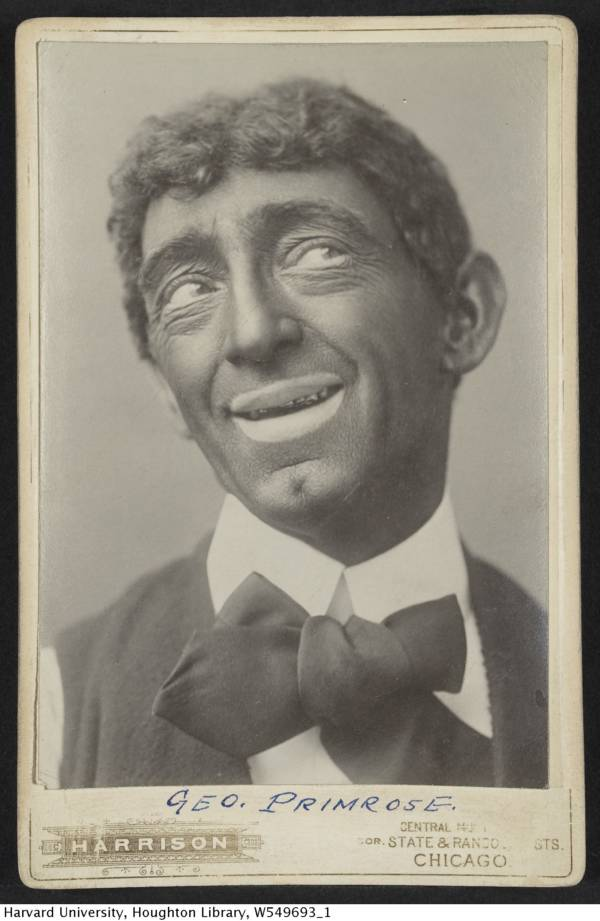 George Primrose Blackface