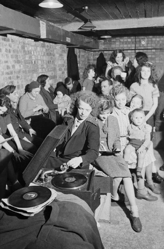 Gramophone In Shelter