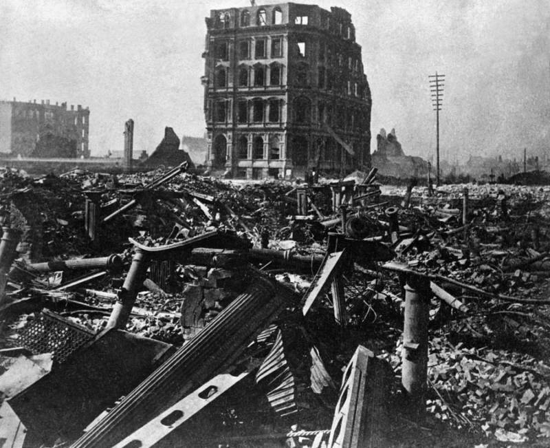 Great Chicago Fire Cityscape