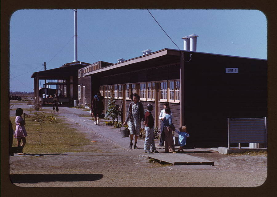 Great Depression Migratory Shelters