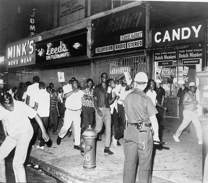 Harlem Riots Demonstration
