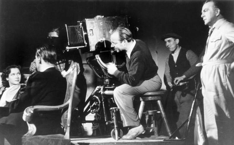 Heinz Ruhmann Filming
