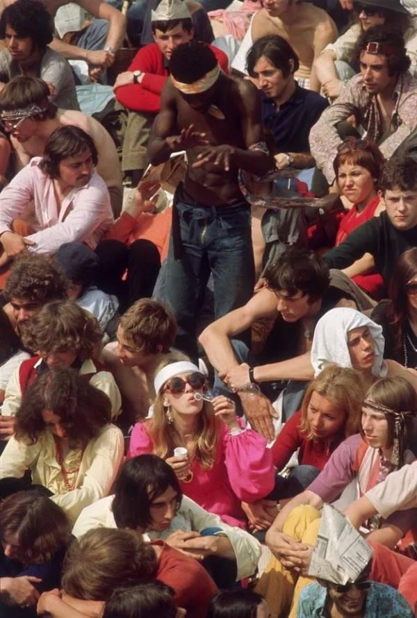 Hippie Photos Rolling Stones