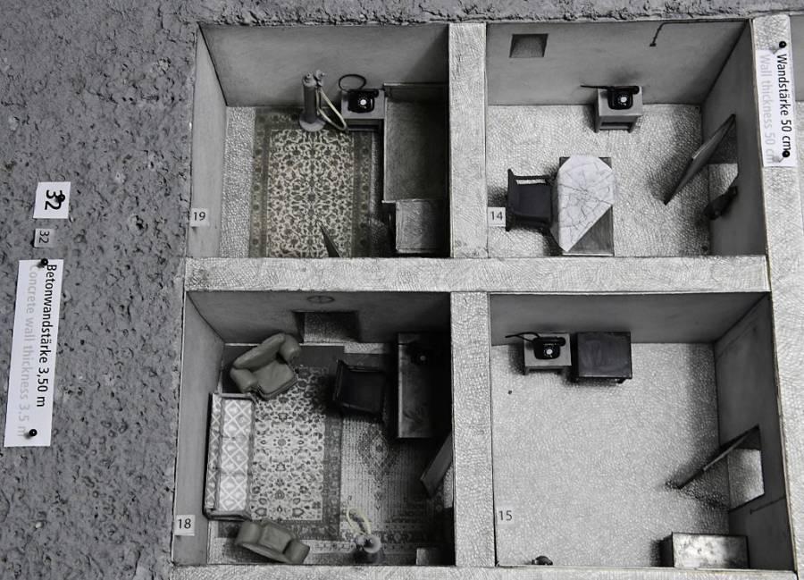 Hitler Bunker Model