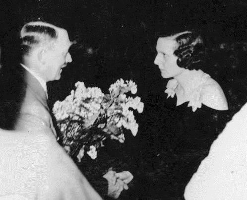 Hitler Congratulates Leni Reifenstahl