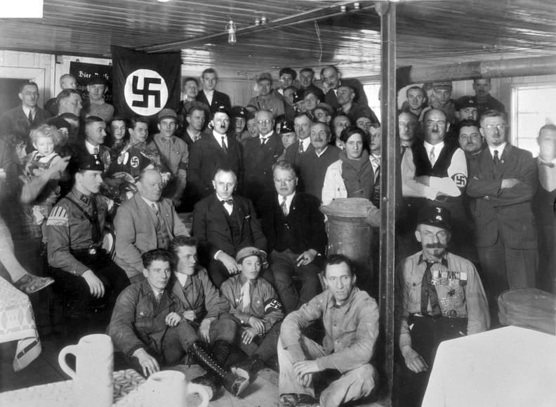 Hitler In Beer Hall
