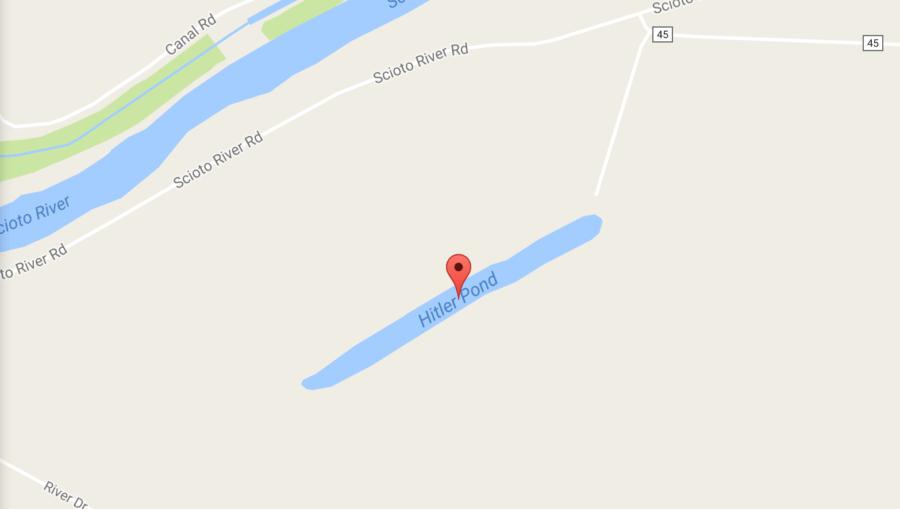 Hitler Pond Ohio