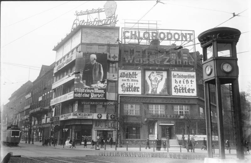 Hitler Sign On Building