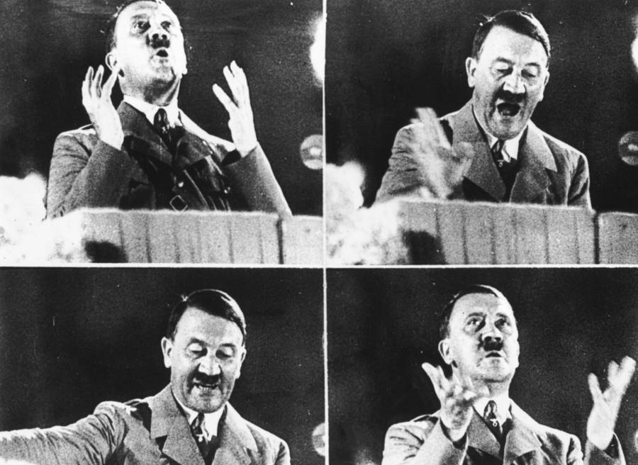 Adolf Hitler Yelling