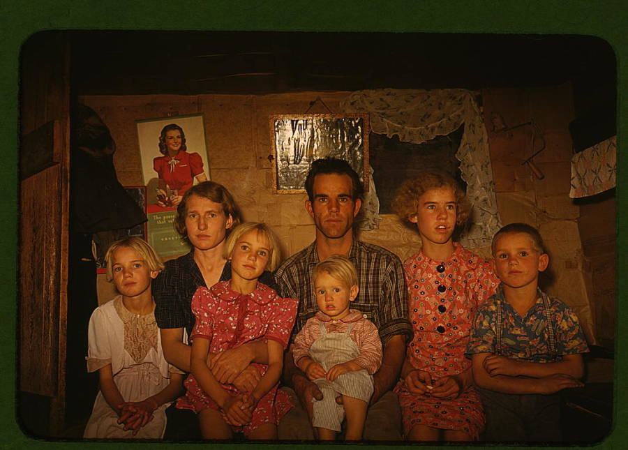 Homesteader Family