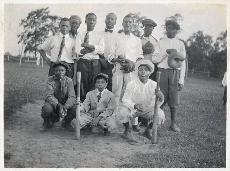 Howard Orphanage Baseball Team