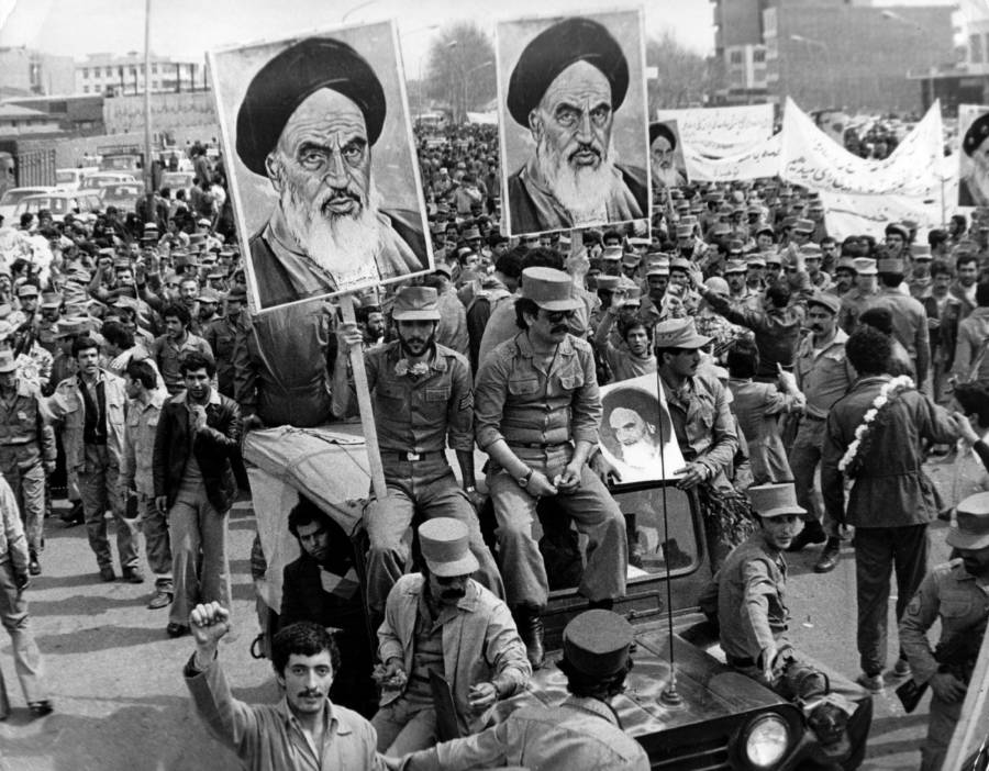 Iranian Revolution Khomeini Poster