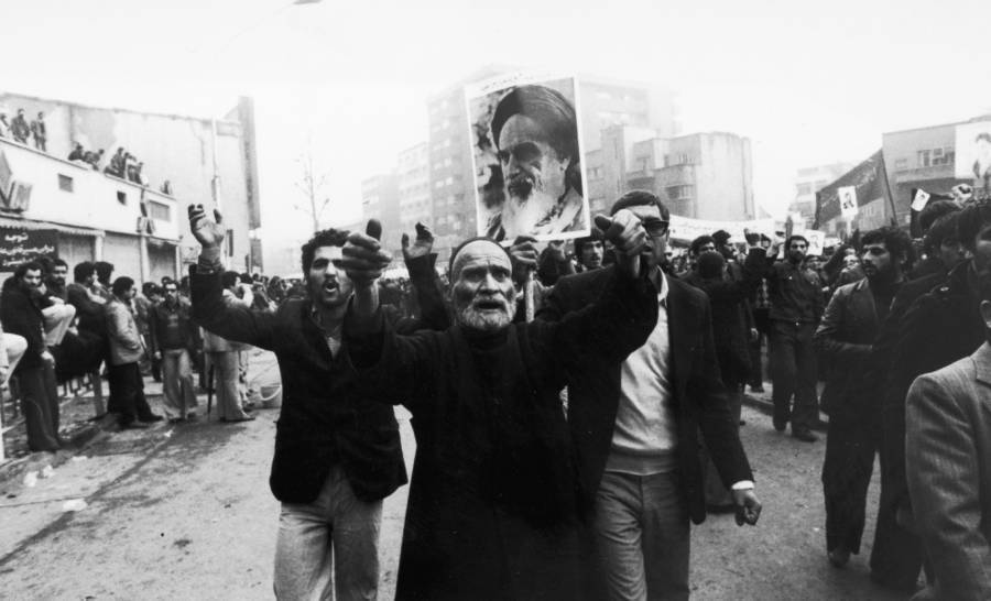 Iranian Revolution Photo March