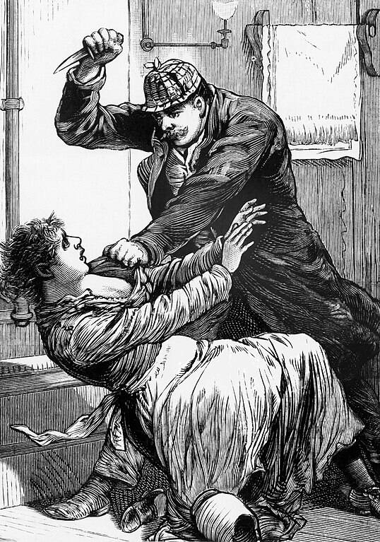 Jack The Ripper Killing A Victim