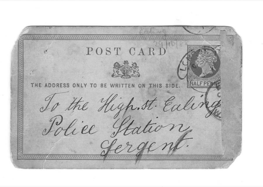 Jack The Ripper Postcard