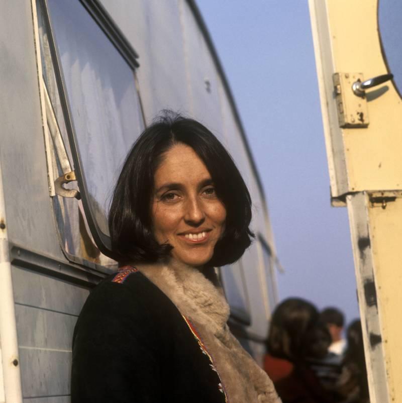 Joan Baez At Festival