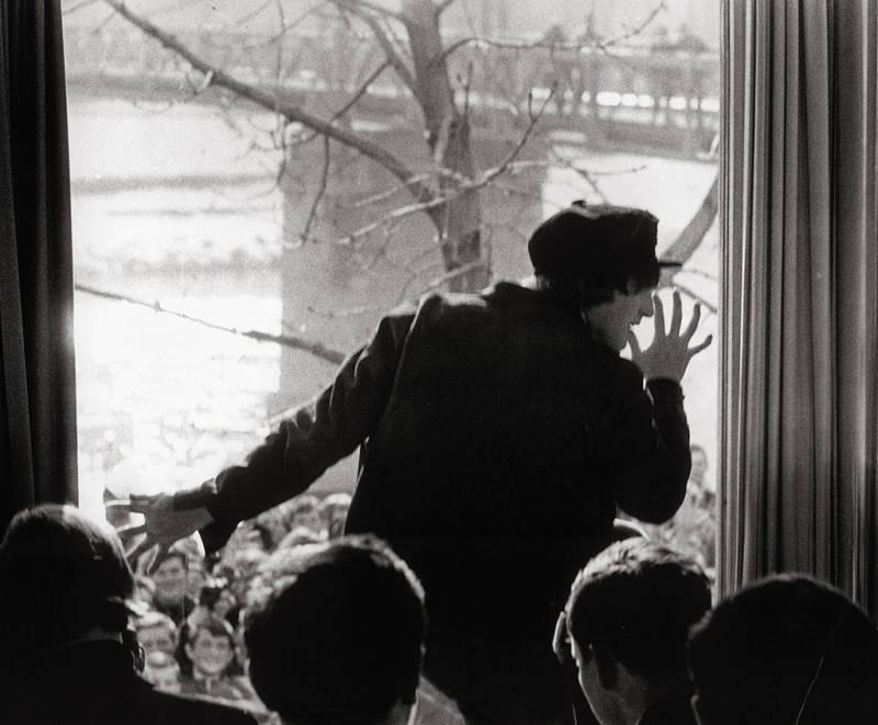 John Lennon At Window