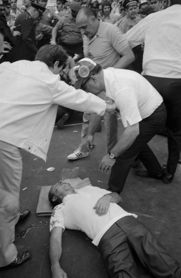Joseph Colombo Lying Dead