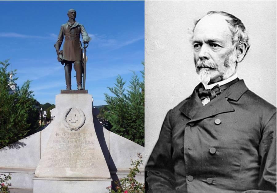 Joseph Johnston Statue