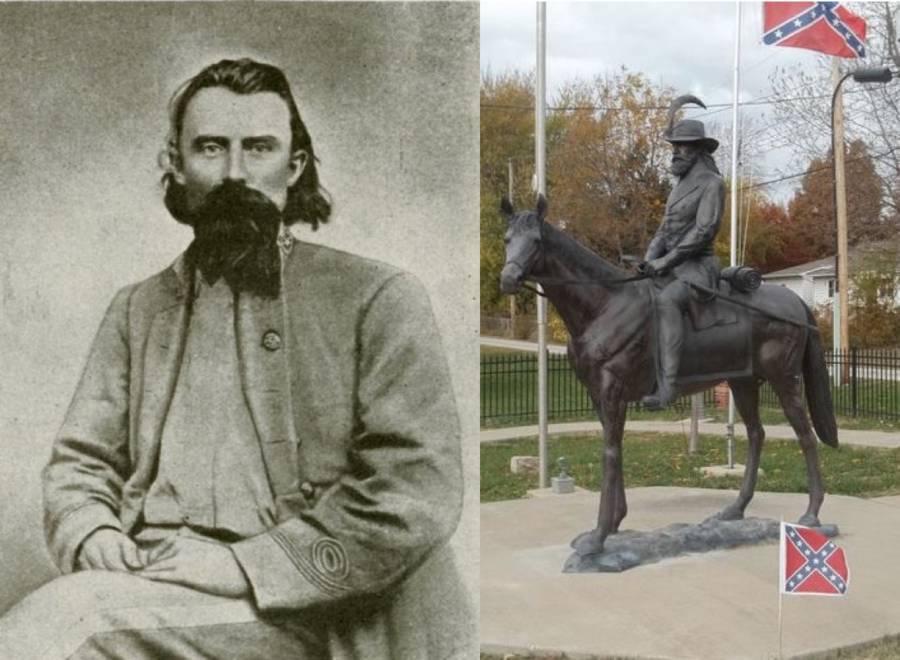 Joseph Shelby Statue