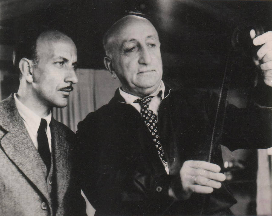 Karl Ritter With Film