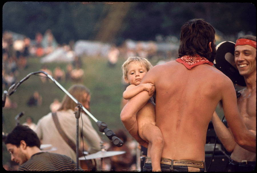 Ken Babbs At Woodstock