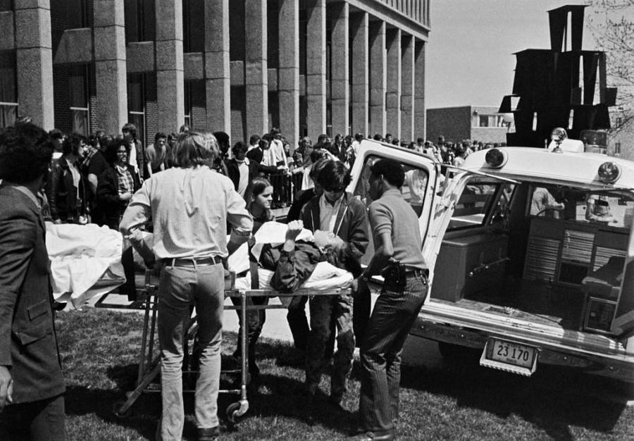 Kent State Massacre Wounded Student