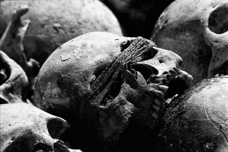 Killing Fields Skull Blindfold