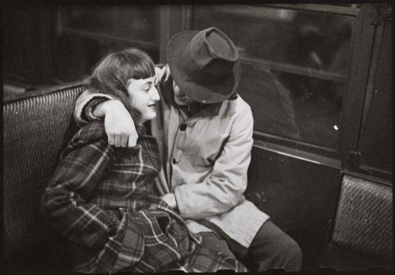 Kubrick Nyc Subway Couple