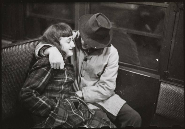 Kubrick Nyc Subway Couple