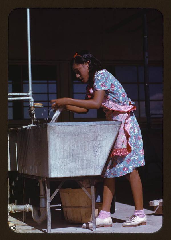 Labor Camp Community Laundry