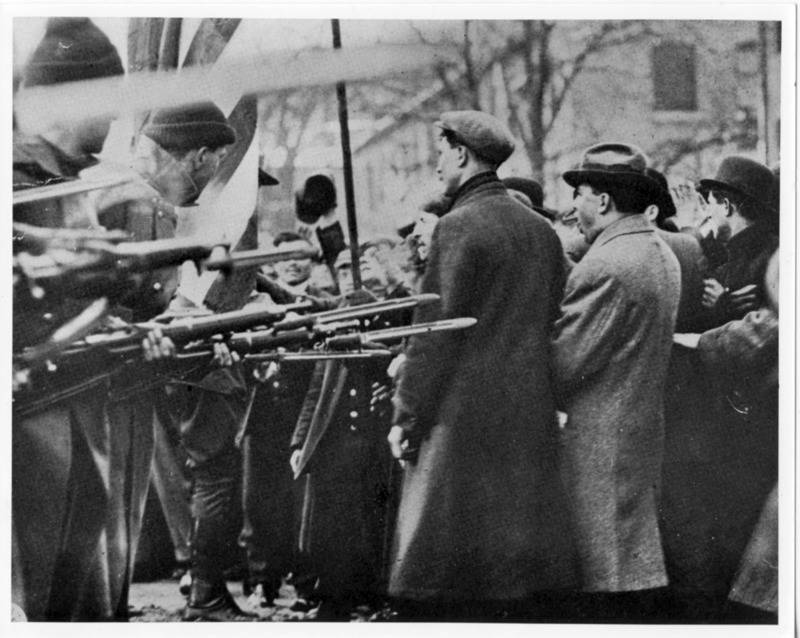 Labor Unions Bayonets