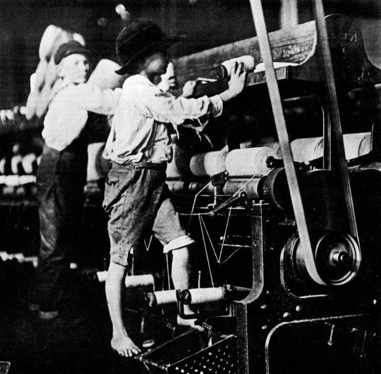 Lawrence Mills Child Labor