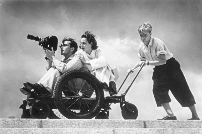Leni Riefenstahl Moving Camera