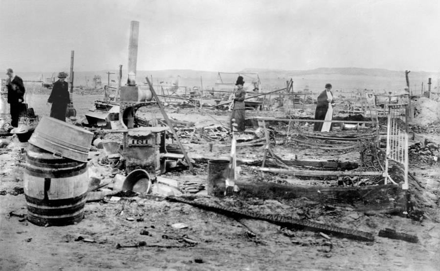 Ludlow Colony Ruins