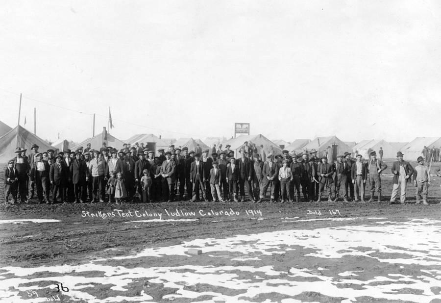Ludlow Colony Strikers