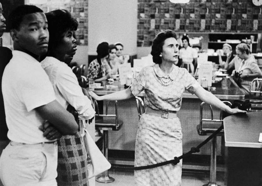 Lunch Counter Segregation In America