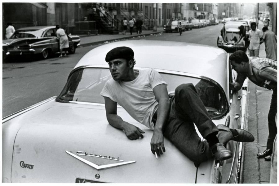 Man Leaning On Chrysler