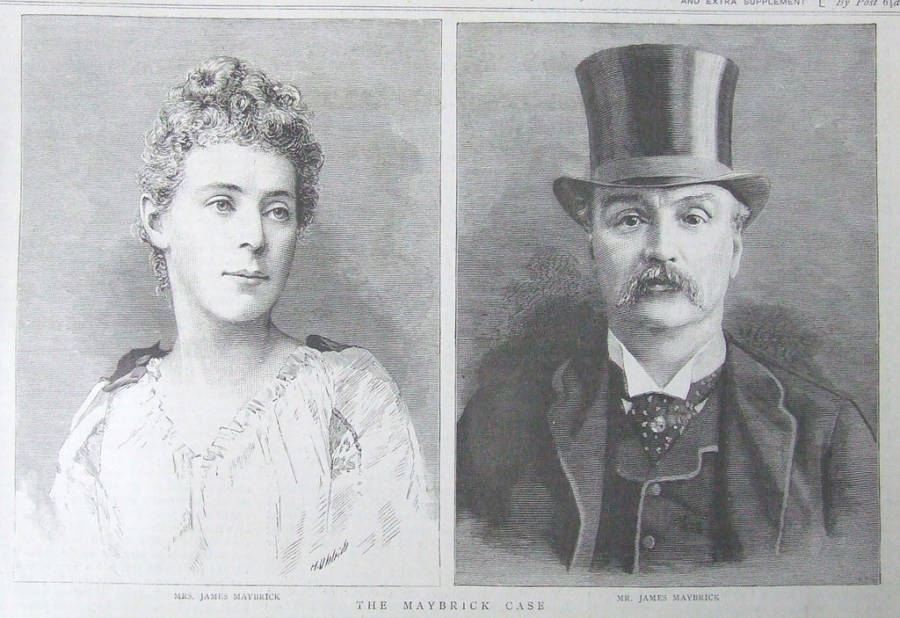 Florence Maybrick and James Maybrick In 1889