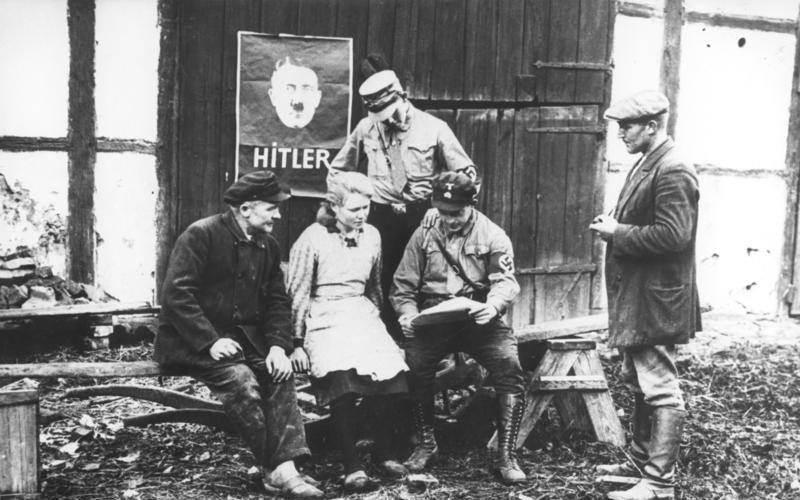 Nazis Convincing A Voter