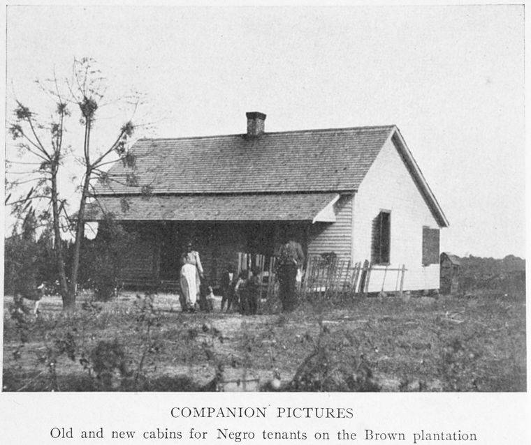 Negro Tenants Brown Plantation