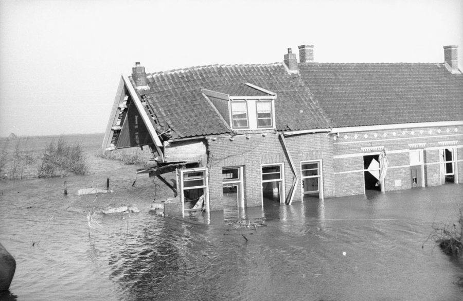 Netherlands Destroyed House