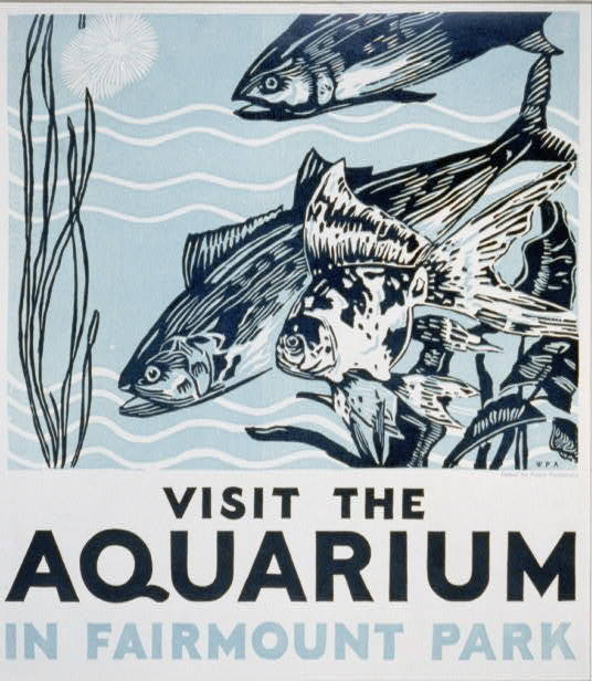 WPA Posters Promoting Tourism