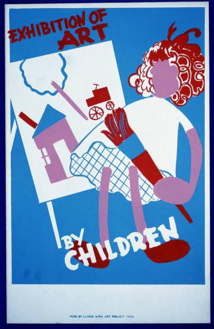New Deal Kids Art