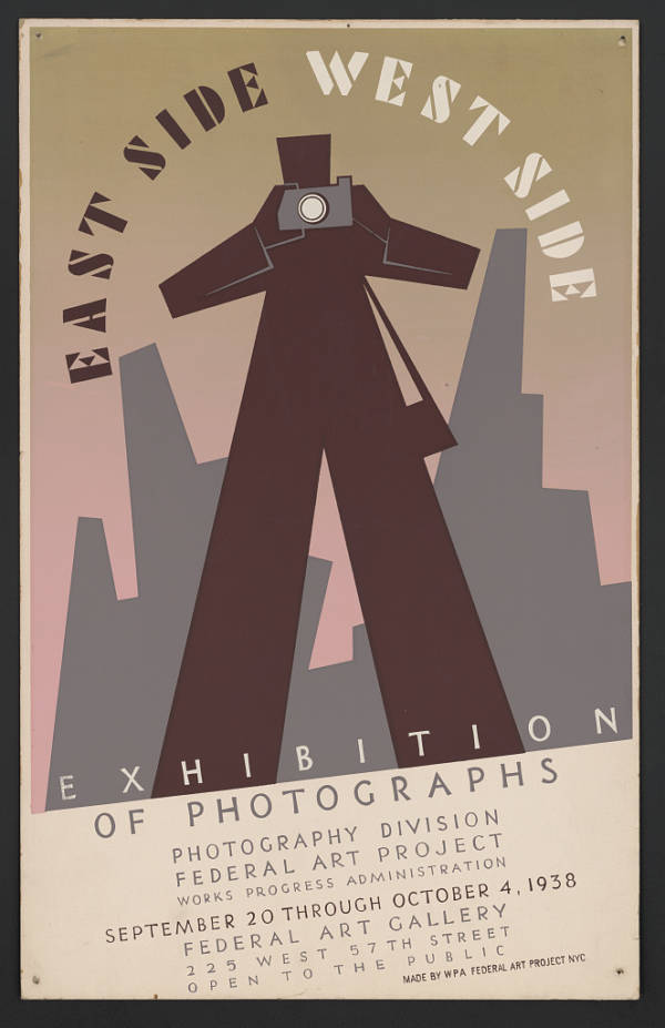 New Deal Poster Photography
